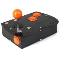 Deluxe Mini Monster PC Engine Joystick Kit - Electric Orange