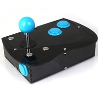 Deluxe Mini Monster PC Engine Joystick Kit - Ice Blue