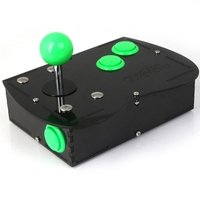 Deluxe Mini Monster PC Engine Joystick Kit - Jelly Green