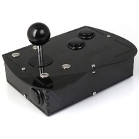 Deluxe Mini Monster PC Engine Joystick Kit - Stealth Black