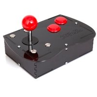 Deluxe Mini Monster Retro Gaming Joystick Kit - Cherry Red