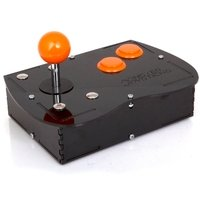 Deluxe Mini Monster Retro Gaming Joystick Kit - Electric Orange