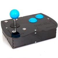 Deluxe Mini Monster Retro Gaming Joystick Kit - Ice Blue