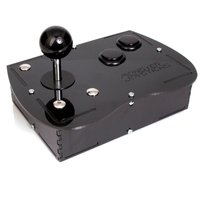 Deluxe Mini Monster Retro Gaming Joystick Kit - Stealth Black