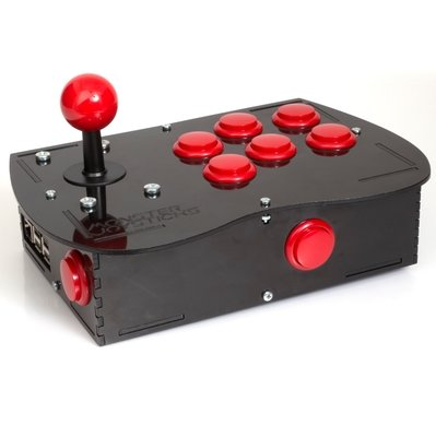 BASIC Arcade Controller Kit for Raspberry Pi - Cherry Red