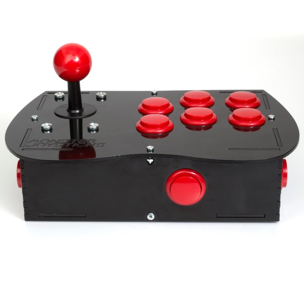 BASIC Arcade Controller Kit for Raspberry Pi - Cherry Red