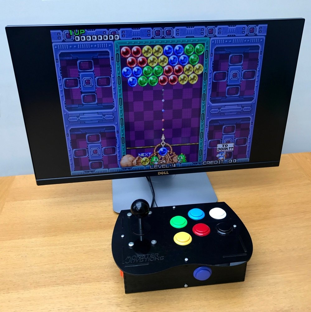 Deluxe Arcade Controller Kit for Raspberry Pi - Cherry Red