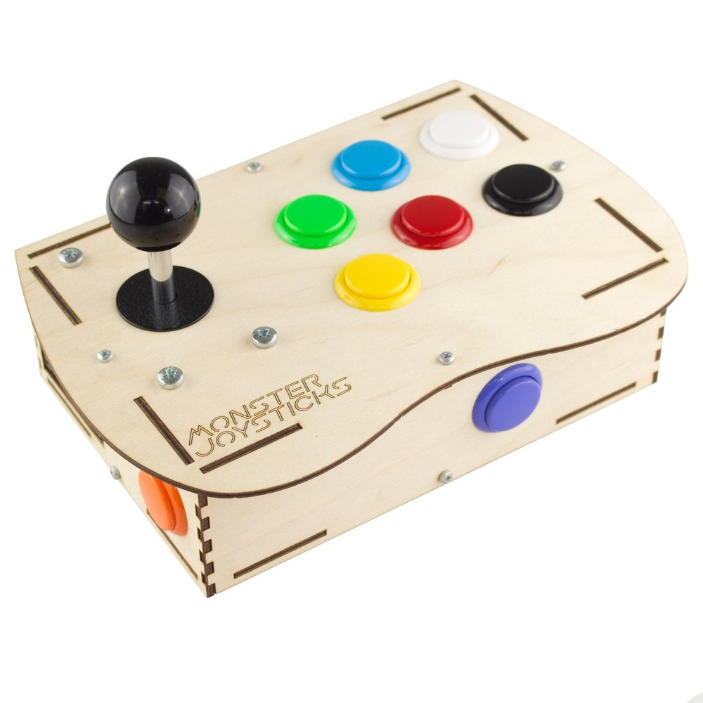 Plywood Arcade Controller Kit for Raspberry Pi - Classic
