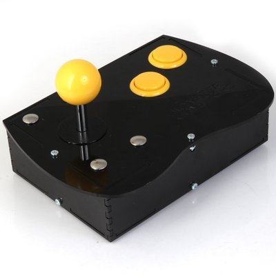 Deluxe Mini Monster Retro Gaming Joystick Kit - Mellow Yellow